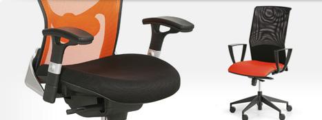 Židle se sítovinou.