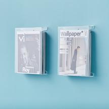 Stojan na časopisy a brožury A4, bal. 2 ks