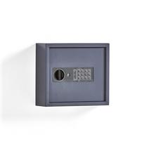 Skříňka na klíče, 25 háčků, šedá