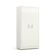 Kovová skříň Swift, 1950x990x450 mm, bílá