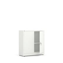 Kovová skříň Style, 1000x1000x400 mm, bílá, bílé dveře