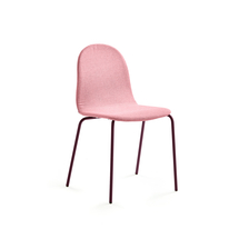 Židle Gander, polstrovaná, podzimní červeň