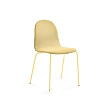 Židle Gander, polstrovaná, hořčicová