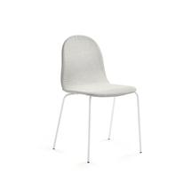 Židle Gander, polstrovaná, béžová