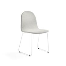 Židle Gander, ližinová podnož, polstrovaná, béžová