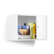 Skříňka na dokumenty, bílá, 380x550x340 mm