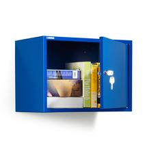 Skříňka na dokumenty, modrá, 380x550x340 mm