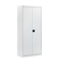 Kovová skříň Scale, 1800x800x400 mm, světle šedá