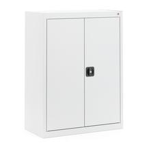 Kovová skříň Scale, 1065x800x400 mm, světle šedá