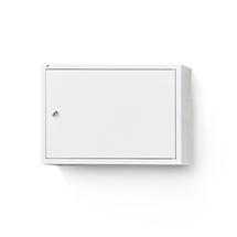 Kovová skříňka Serve, 380x550x340 mm, bílá