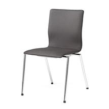 Konferenční židle Whistler, bez područek, tmavě šedá