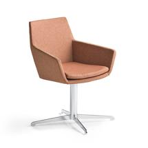 Konferenční židle Fairview, chrom, měděná
