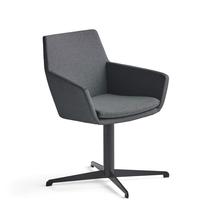 Konferenční židle Fairview, černá, antracitová