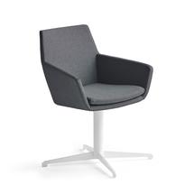 Konferenční židle Fairview, bílá, antracitová