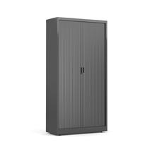 Roletová skříň Studio, 1950x1000x420 mm, černá