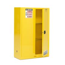 Bezpečnostní skříň Enclose, samozavírací dveře, 2 police, 1650x1090x460 mm