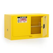 Bezpečnostní skříň Enclose, samozavírací dveře, 2 police, 610x1090x460 mm