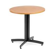 Kulatý jídelní stůl Sanna, Ø700 mm, buk, černá