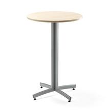 Barový stůl Sanna, Ø700x1050 mm, bříza, šedá