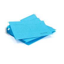 Závěsné desky, A4, modrá, bal. 25 ks