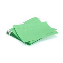 Závěsné desky, A4, zelená, bal. 25 ks