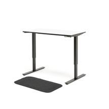 Kancelářská sestava: výškově nastavitelný stůl Nomad + protiúnavová podložka Stand