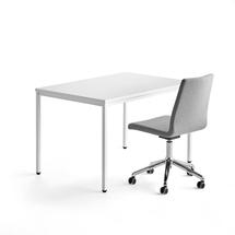 Kancelářská sestava: stůl Modulus a židle Perry