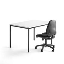 Kancelářská sestava: stůl Modulus a židle Grimsby