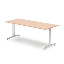 Jídelní stůl Sanna, 1800x800 mm, buk, chrom