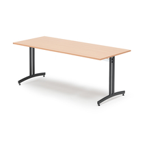 Jídelní stůl Sanna, 1800x800 mm, buk, černá