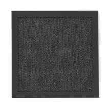 Nástěnka, 450x450mm, černá/šedá