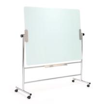 Otočná skleněná tabule, 1200x900mm, bílá