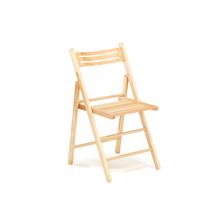 Skládací židle Edinburgh, dřevěná, buk