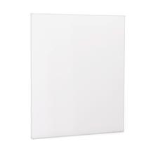 Bílá magnetická tabule Doris, 1000x1200 mm