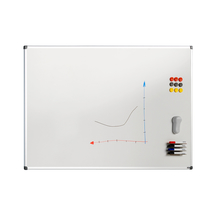 Bílá magnetická tabule Betty, 900x1200 mm