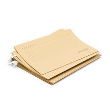 Závěsné desky, formát folio, béžové bal. 25 ks