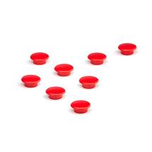 Magnety, Ø 20 mm, bal. 8 ks, červené