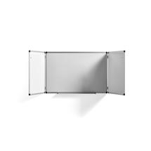 Bílá magnetická tabule Tracey, rozevírací, 1800x600 mm