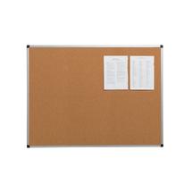 Korková nástěnka, 600x450 mm, hliníkový rám
