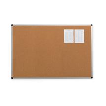 Korková nástěnka, 900x600 mm, hliníkový rám