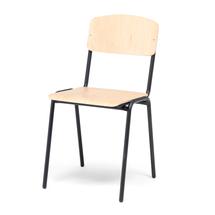 Jídelní židle Clinton, bříza, černá