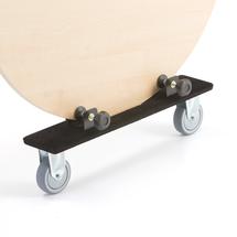 Stěhovací vozík na stoly, 600x125x153 mm, nosnost 100 kg