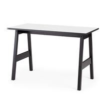 Psací stůl Nomad, 1200x600 mm, bílá/černá