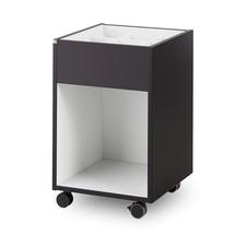 Kancelářský kontejner Nomad, bílo-černý