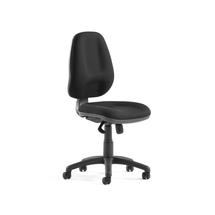 Kancelářská židle Grimsby, vysoké opěradlo, černá