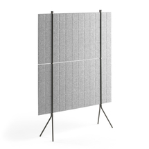 Paraván Split, 1200x1500 mm, světle šedý