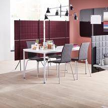 Paraván Split, 1200x1500 mm, vínový