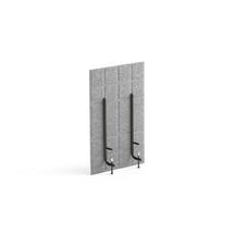 Stolový paraván Split, 400x600 mm, světle šedý