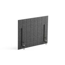 Stolový paraván Split, 800x600 mm, tmavě šedý