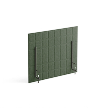 Stolový paraván Split, 800x600 mm, zelený